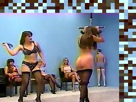 vintage femdom whipping